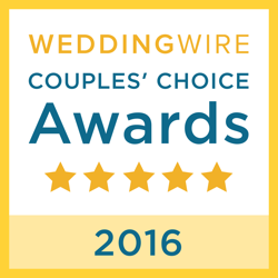 2016 Wedding Wire Couples Choice Award for Wedding DJ