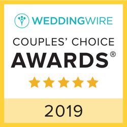 2019 Wedding Wire Couples Choice Award for Wedding DJ