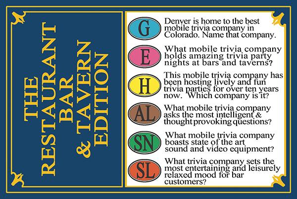 Trivia Card